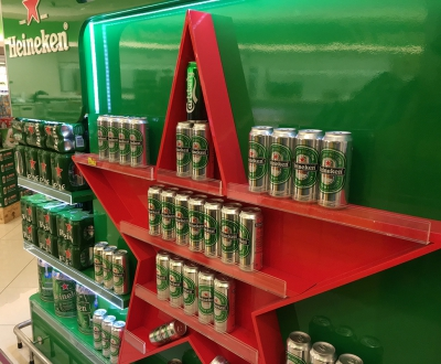 Heineken Perfect Shelf at Wellcome (Discovery Bay Store)