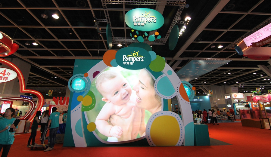 Pampers Baby Expo Booth